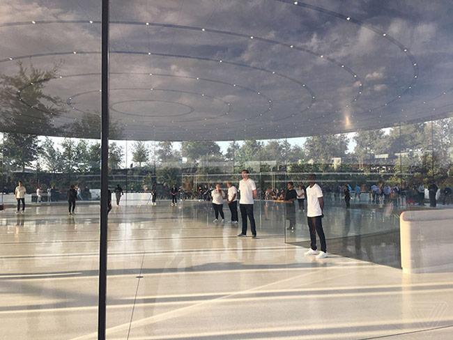 Trụ sở mới hoành tráng của Apple