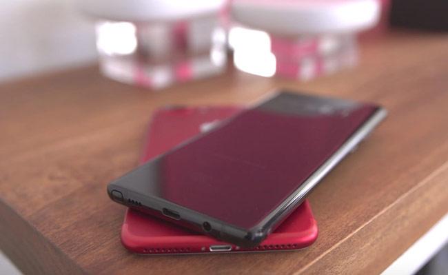 Galaxy Note 8 cho cảm giác rất liền mạch