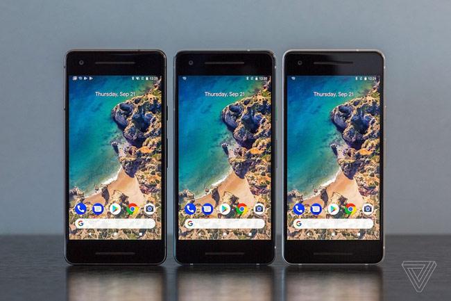 Pixel 2 có màn hình OLED Full HD