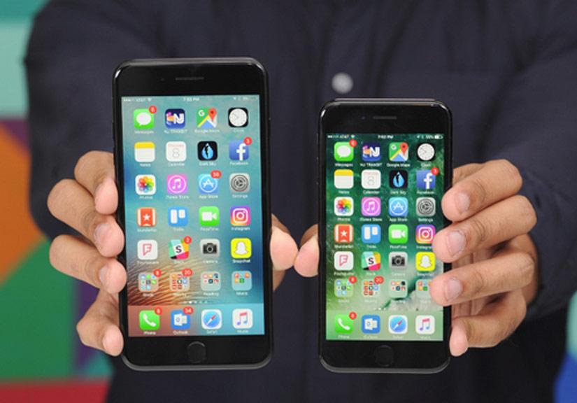 Bộ đôi iPhone 7 bán chạy nhất nửa đầu 2017