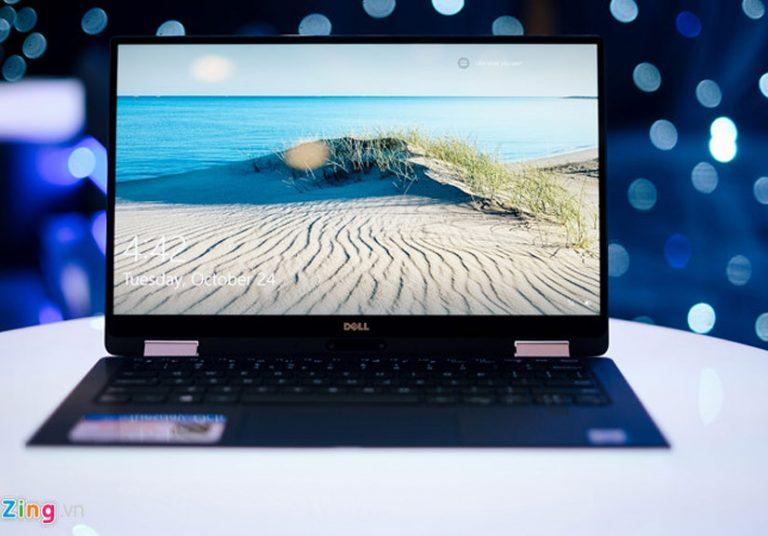 Laptop 13 inch mỏng nhất thế giới về VN