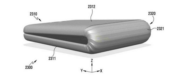 Galaxy X có thể là smartphone có màn hình gập được.