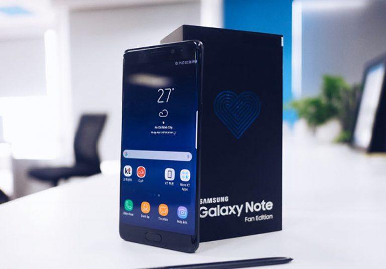 Galaxy Note Fan Edition sắp lên kệ tại VN