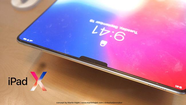 chiếc iPad với ngôn ngữ thiết kế hoàn toàn mới