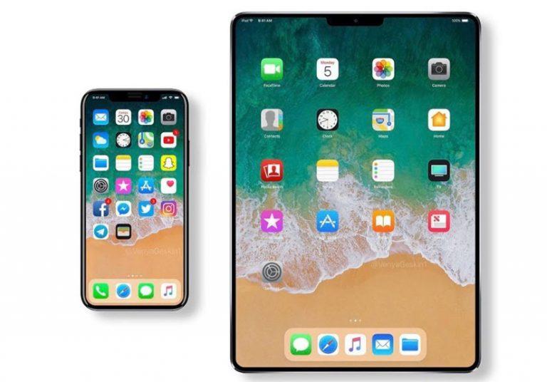 iPad sắp có bản màn hình tràn viền