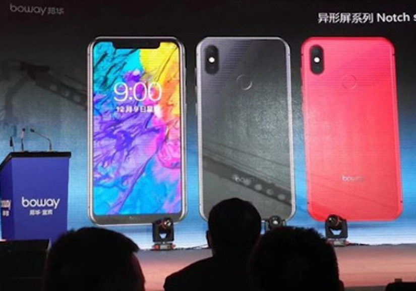 Điện thoại Trung Quốc 'nhái' hệt iPhone X