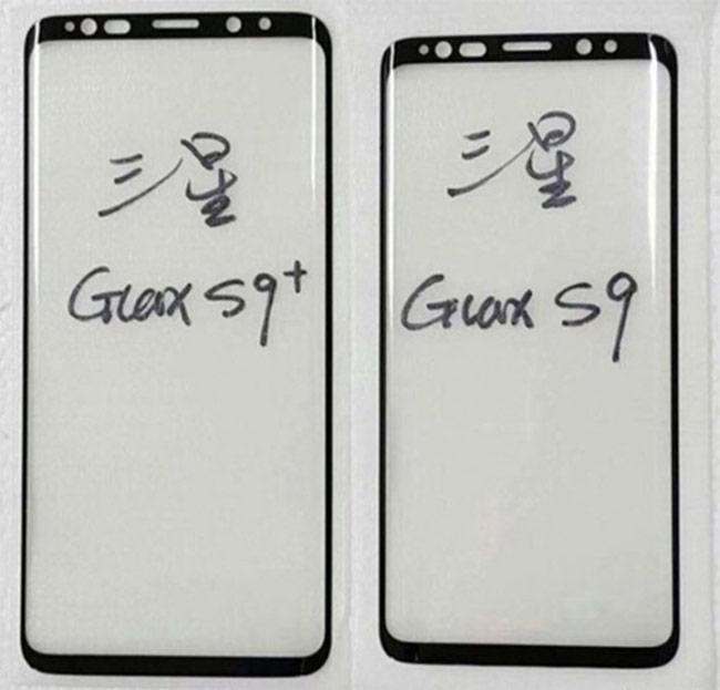 Linh kiện mặt trước và sau của Galaxy S9 lộ diện