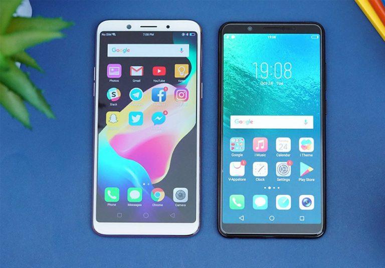 smartphone màn hình tràn viền của Oppo