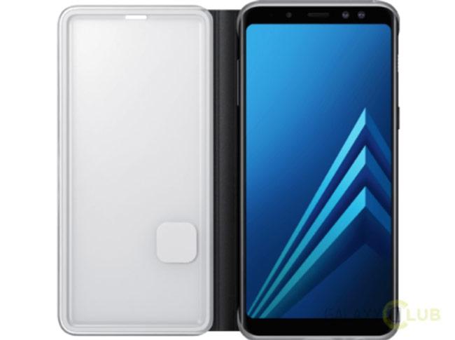 Thiết kế chính thức của Galaxy A8 (2018)