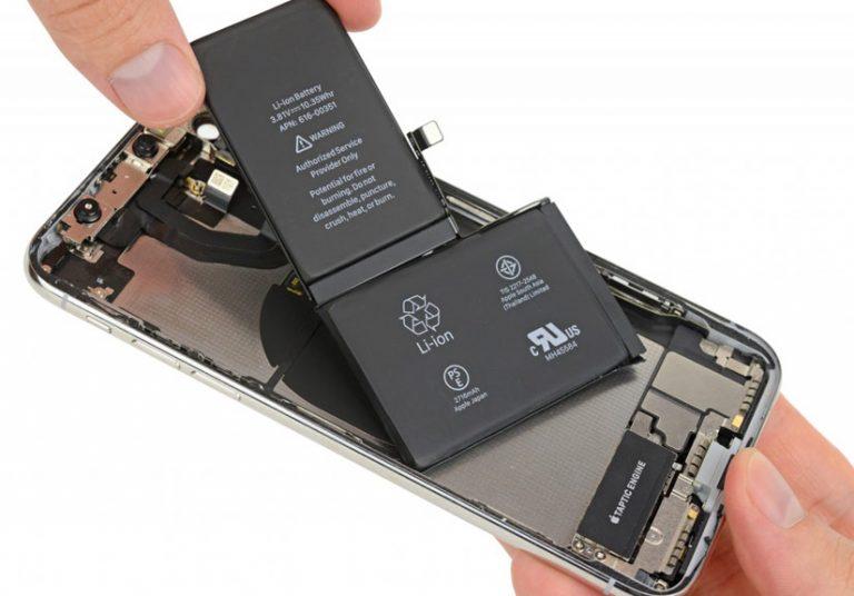 iPhone Xs có thể dùng pin của LG dung lượng 3.000 mAh