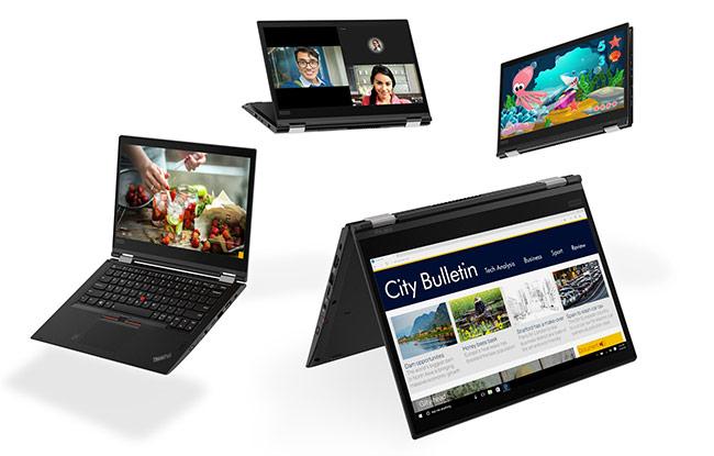 Lenovo ra mắt loạt sản phẩm ThinkPad 2018