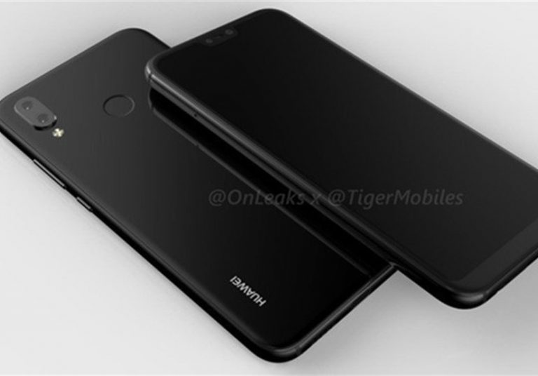 Huawei P20 Plus có màn hình 'tai thỏ'