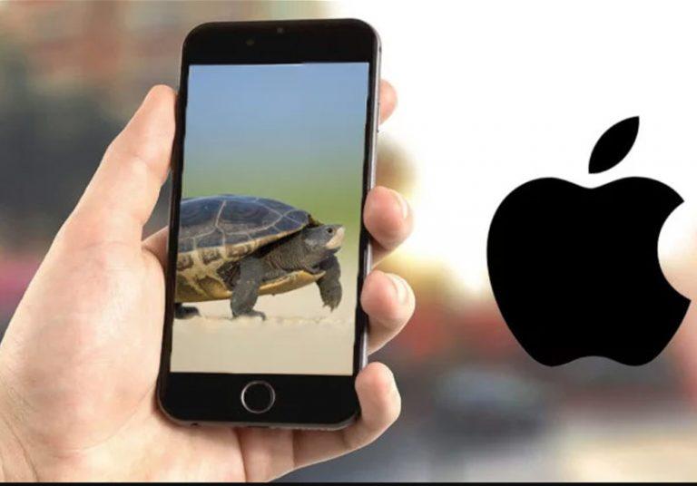 tắt tính năng làm chậm iPhone