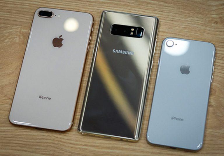 Smartphone cao cấp đua giảm giá trước Tết