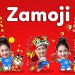 Tạo sticker chúc Tết từ ảnh cá nhân bằng Zamoji