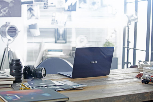 mẫu laptop màn hình viền mỏng 14 inch từ Asus