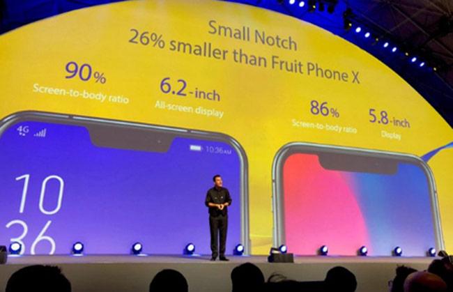 Các hãng Android ồ ạt làm điện thoại 'tai thỏ' như Apple