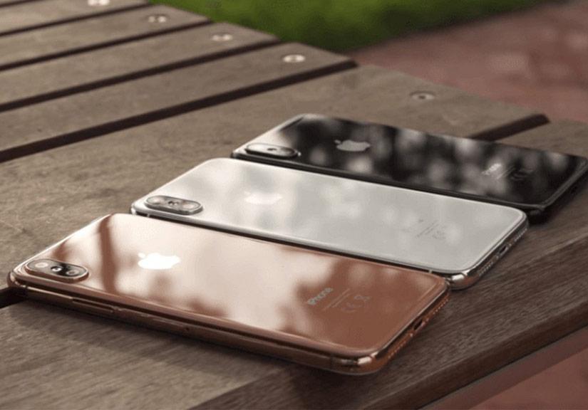 iPhone X màu blush gold sắp ra mắt?