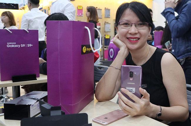 Galaxy S9+ màu tím Lilac