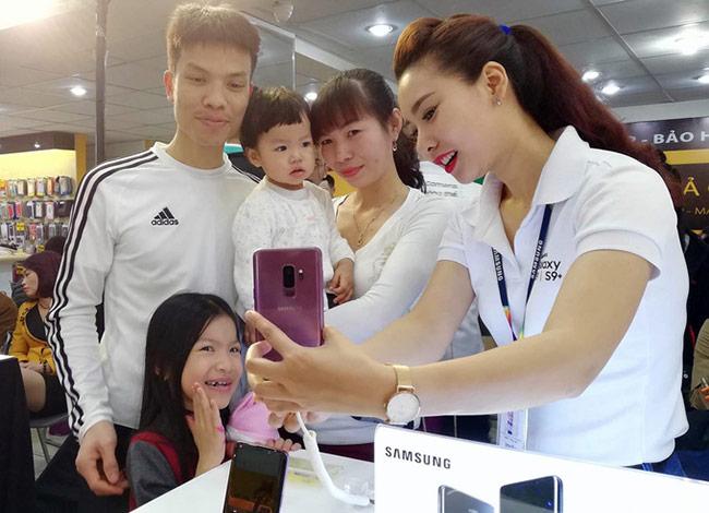 nhận Galaxy S9 đã đặt trước