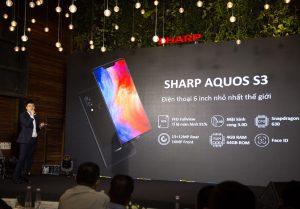 Sharp chính thức trình làng Aquos S3 tại Việt Nam