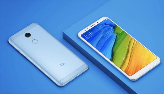 Xiaomi Redmi 5 (2,69 triệu đồng)