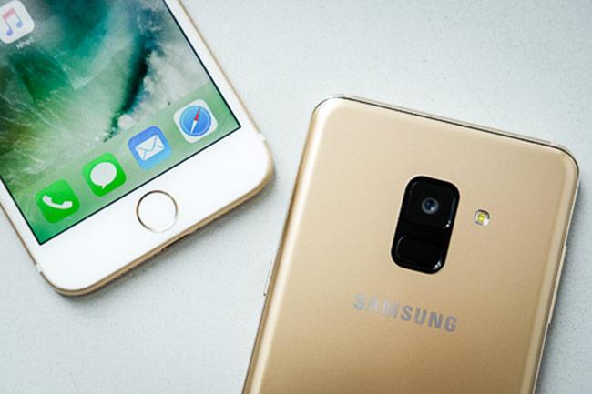 Galaxy A8 thắng iPhone 7 trong bình chọn camera