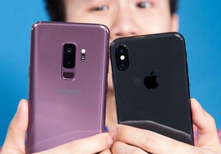 Galaxy S9+ đọ camera giấu mặt với iPhone X