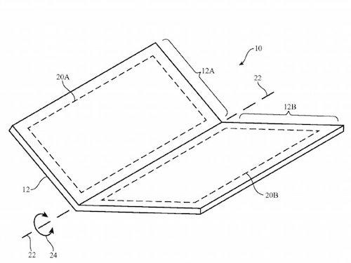 iPhone màn hình cong sẽ có hai chế độ gập
