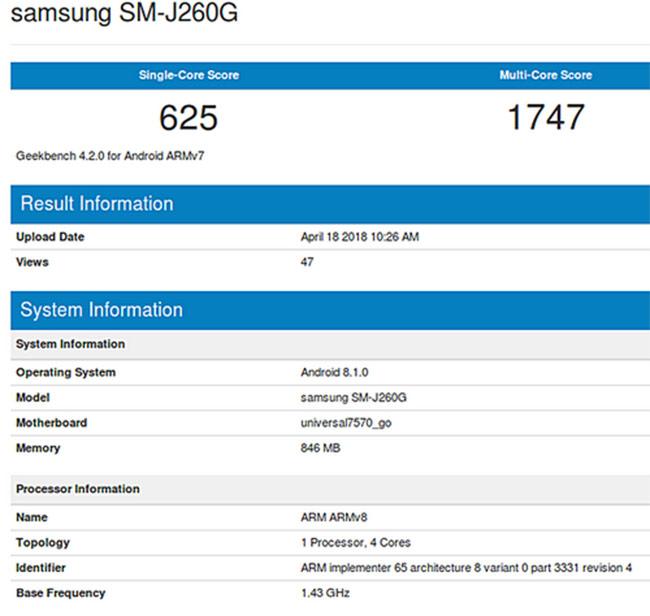 Samsung sắp ra smartphone giá rẻ chạy Android Go đầu tiên