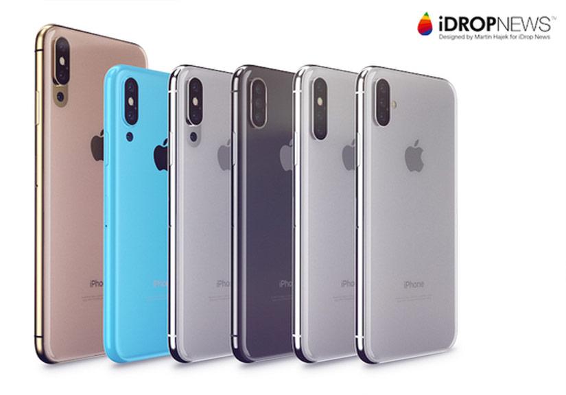 Ý tưởng iPhone 2018 với camera 3 ống kính