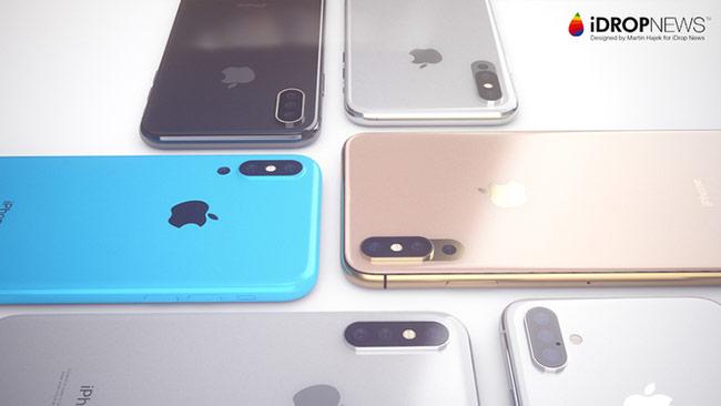 Ý tưởng iPhone 2018 với camera 3 ống kínhÝ tưởng iPhone 2018 với camera 3 ống kính