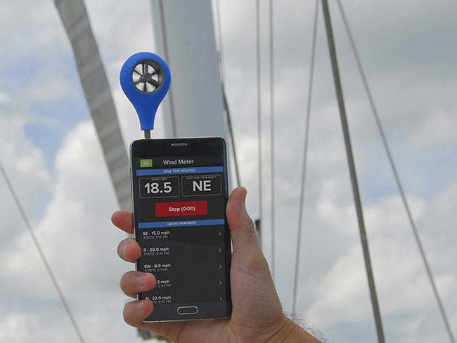 Kiểm tra tốc độ gió
