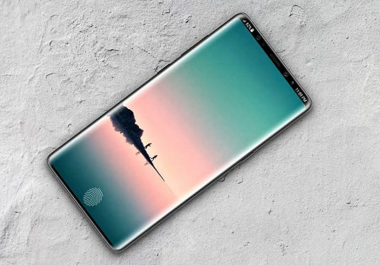 Một bản concept chiếc Galaxy Note 9.