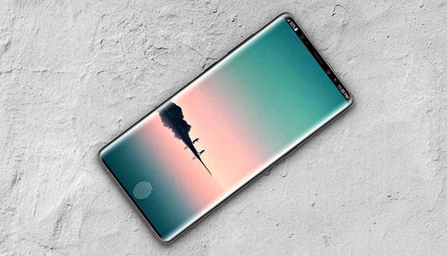 Một bản concept chiếc Galaxy Note 9.