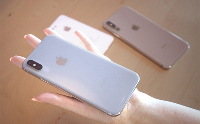 iPhone X 5,8 inch nhưng nhờ thiết kế màn hình tràn viền nên trông vẫn nhỏ gọn