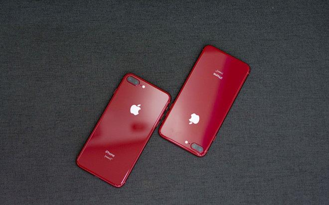 iPhone 8 màu đỏ chính hãng giá 21 triệu đồng