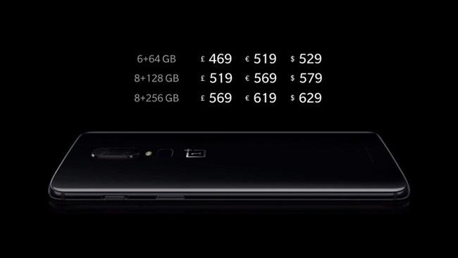 OnePlus 6 chính thức ra mắt, tập trung hơn vào sức mạnh xử lý