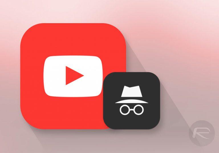 Sắp có chế độ ẩn danh Youtube trên ứng dụng di động