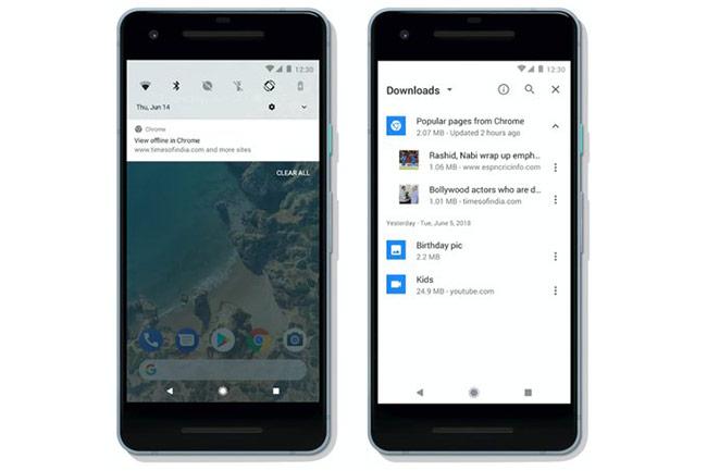Chrome cho Android hỗ trợ lưu nội dung web về đọc ngoại tuyến