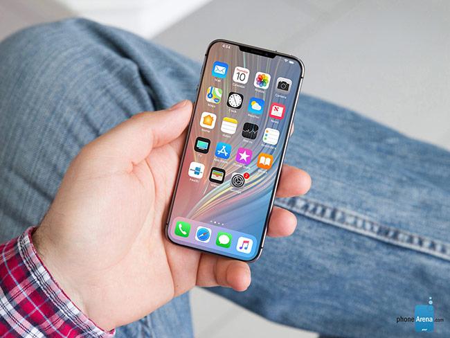 Một concept iPhone SE 2 với màn hình tràn viền.