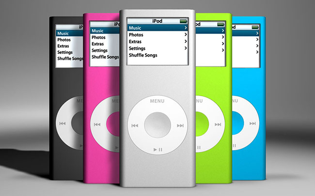 Apple iPod Shuffle và iPad Nano