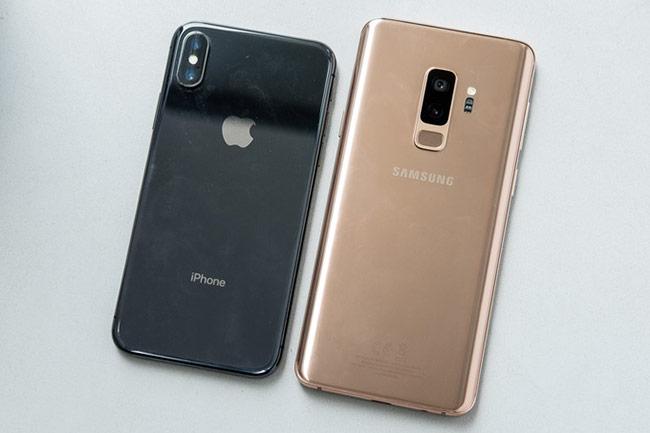 kiểu màu mới trên Galaxy S9+ Sunrise
