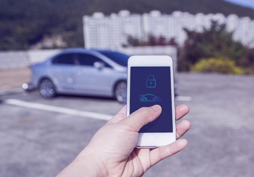 Mở khóa ôtô bằng smartphone nhờ 'khóa kỹ thuật số'