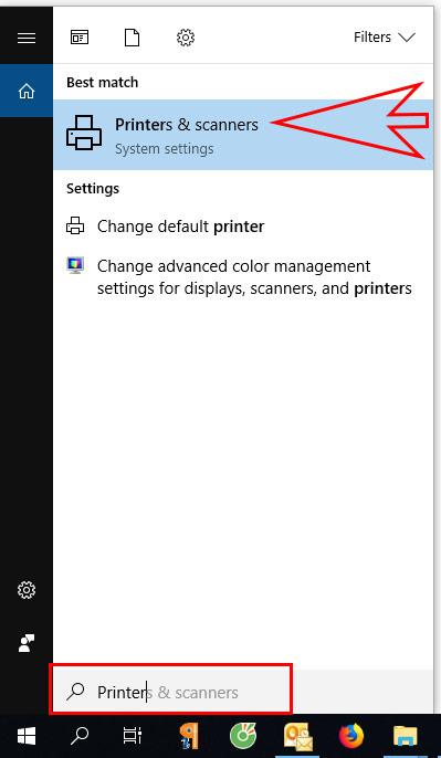 Tắt chế độ offline trong máy in