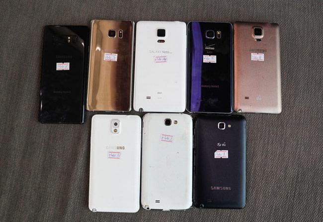 Bộ sưu tập Galaxy Note của dân chơi Sài Gòn