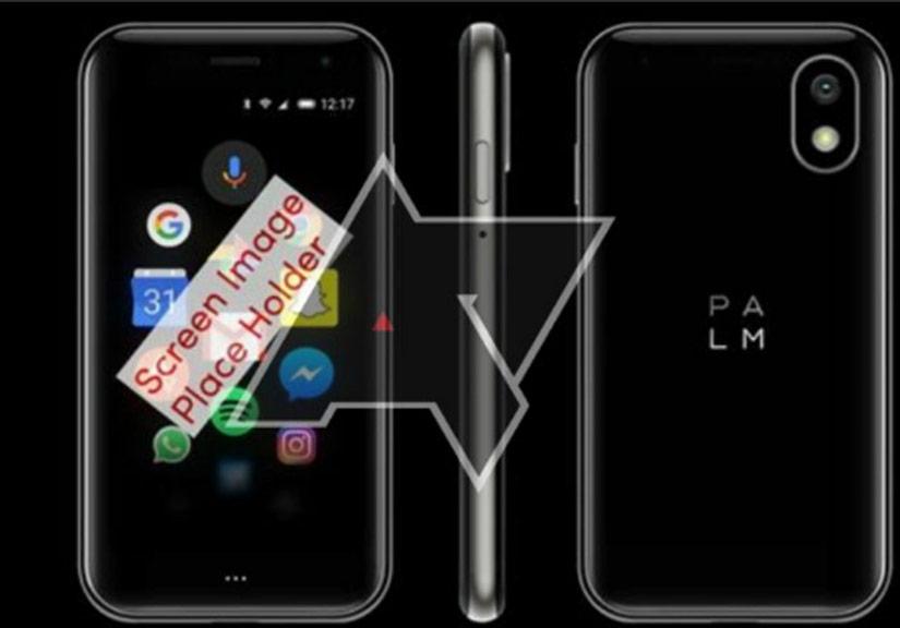 Điện thoại Palm kích thước 3,3 inch lộ ảnh