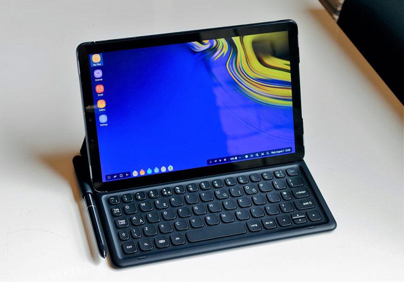 Galaxy Tab S4 ra mắt - Snapdragon 835, có chế độ Samsung Dex