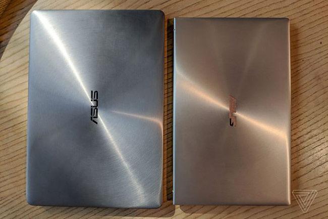 ZenBook 2018 được hoàn thiện với khung kim loại