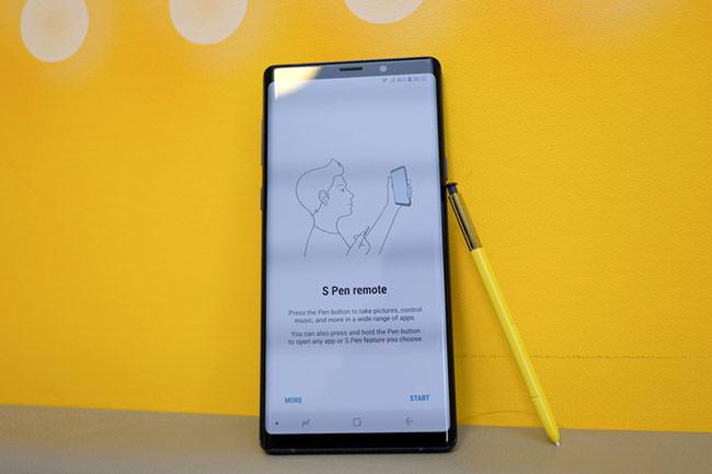 Sự thay đổi đáng kể nhất trong trải nghiệm của Galaxy Note9 là bút S Pen
